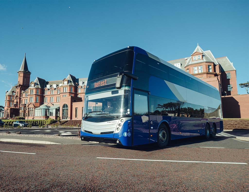#AYearOfBuses 261: Goldline Express Belfast – Enniskillen
