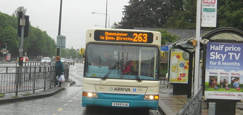 Arriva bus 263