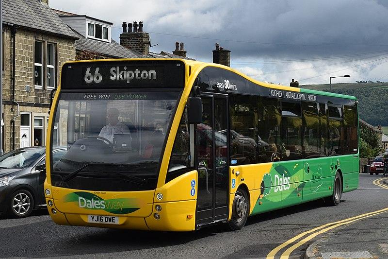#AYearOfBuses 266: Dalesway Keighley – Skipton