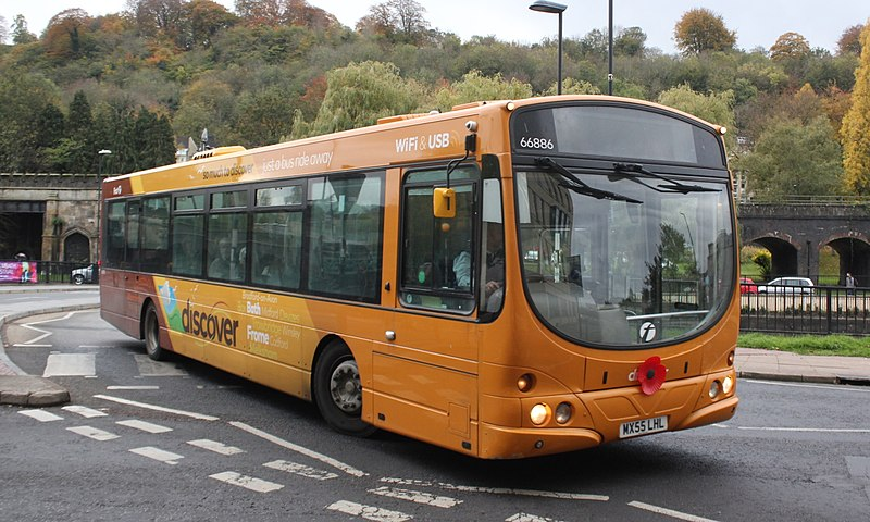 #AYearOfBuses 267: Discover D2 Bath – Frome