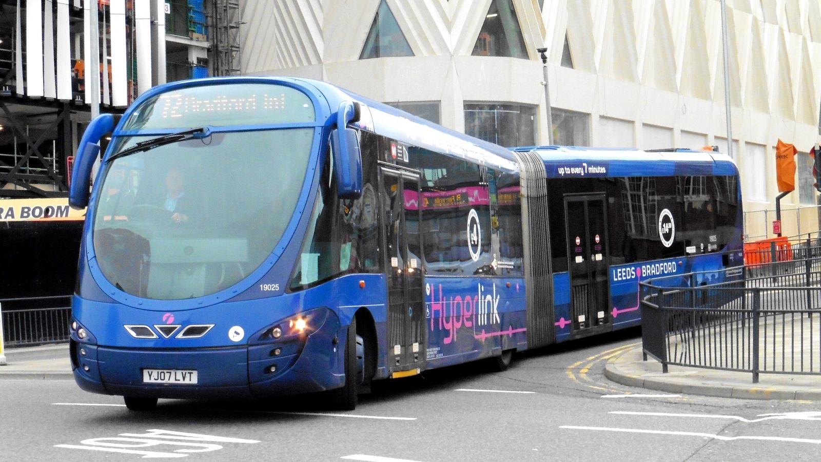 #AYearOfBuses 72: Hyperlink Leeds – Bradford