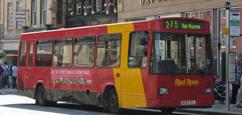 Red Rose bus 275