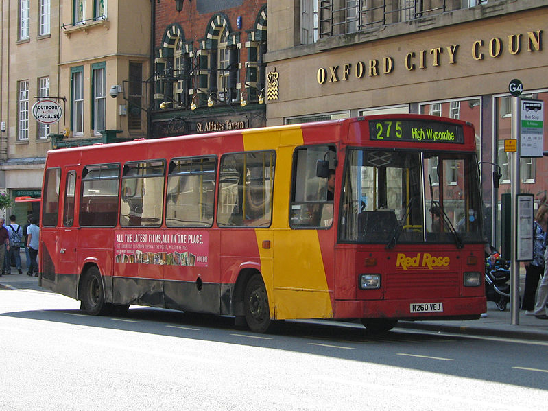 #AYearOfBuses 275: Oxford – High Wycombe