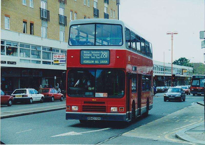 #AYearOfBuses 281: Hounslow – Tolworth