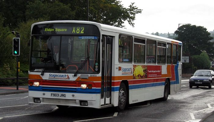 Stagecoach bus x82
