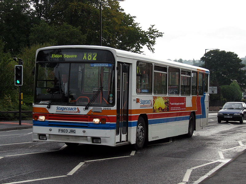 #AYearOfBuses 282: X82 Eldon Square – Throckley