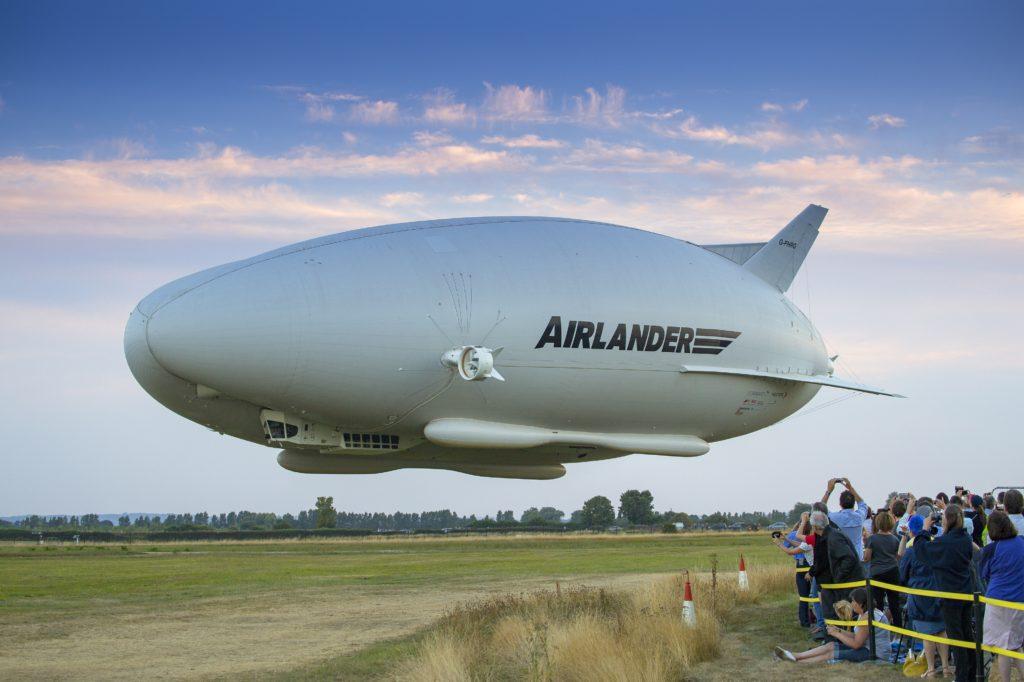 Airlander launching