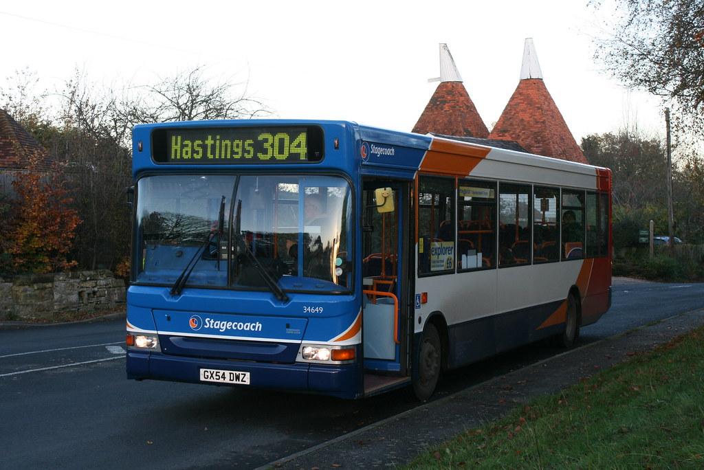 #AYearOfBuses 304: Hawkhurst – Hastings