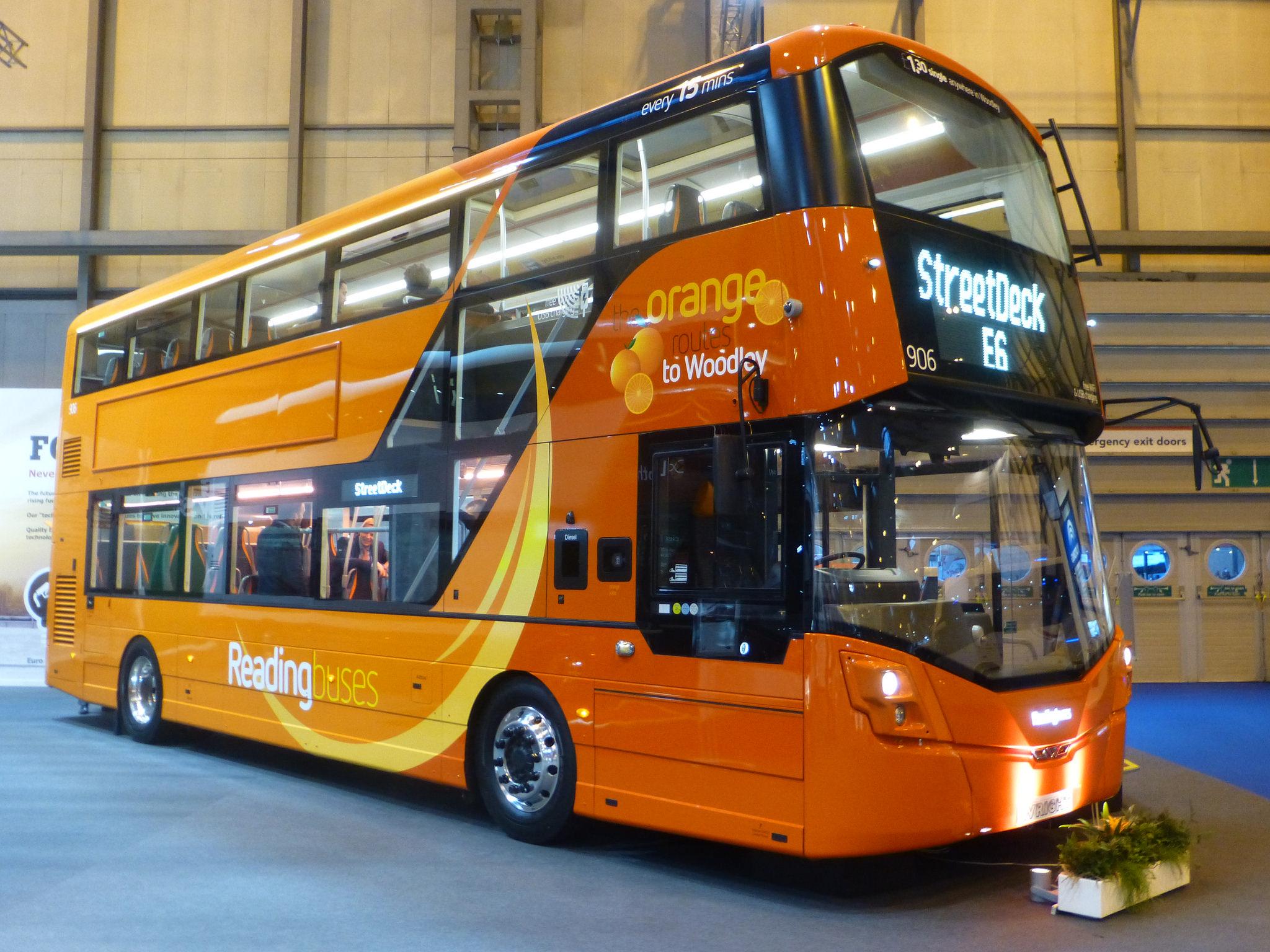 #AYearOfBuses 13: the Orange routes Reading – Woodley