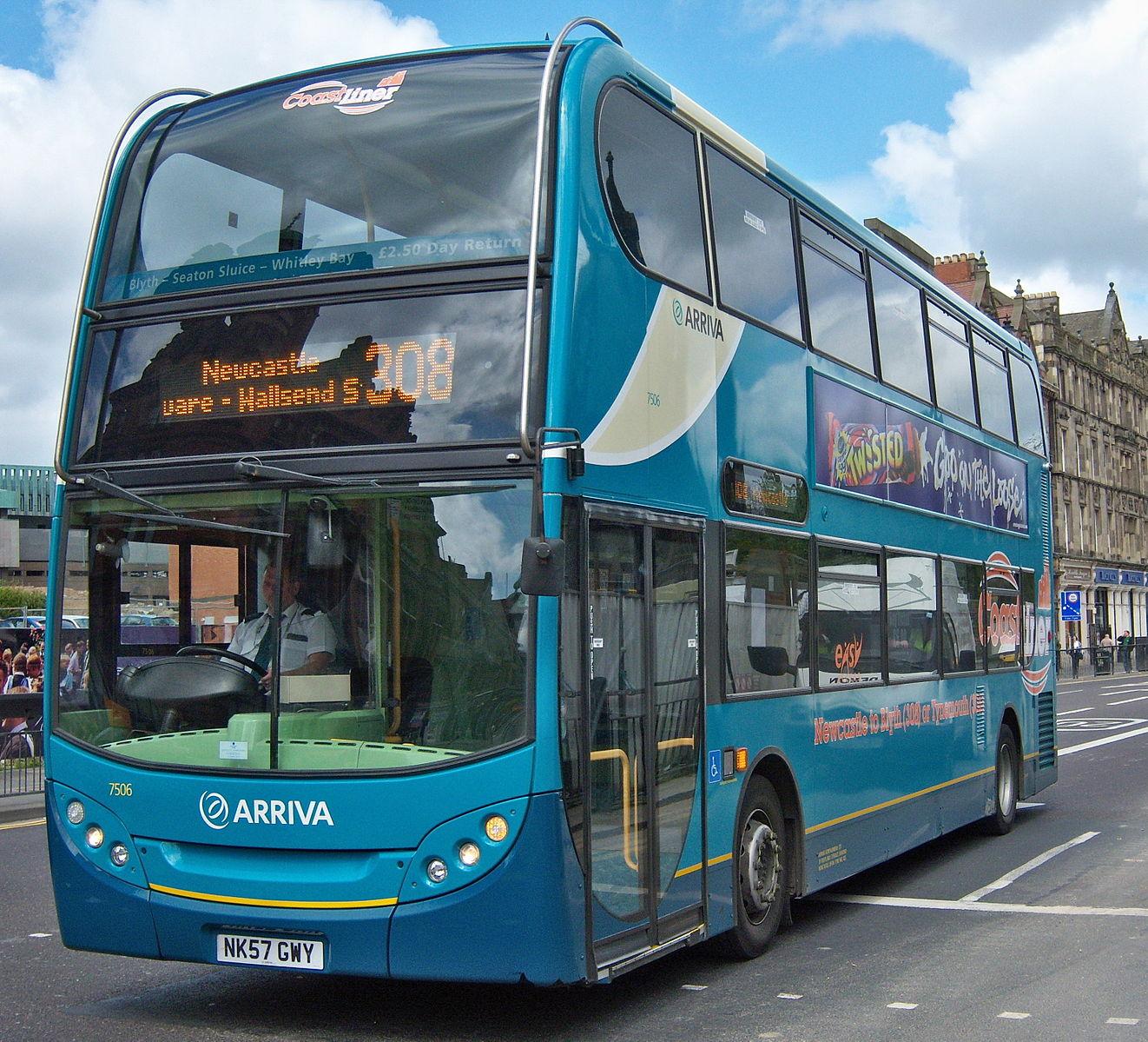 #AYearOfBuses 308: Newcastle – Blyth