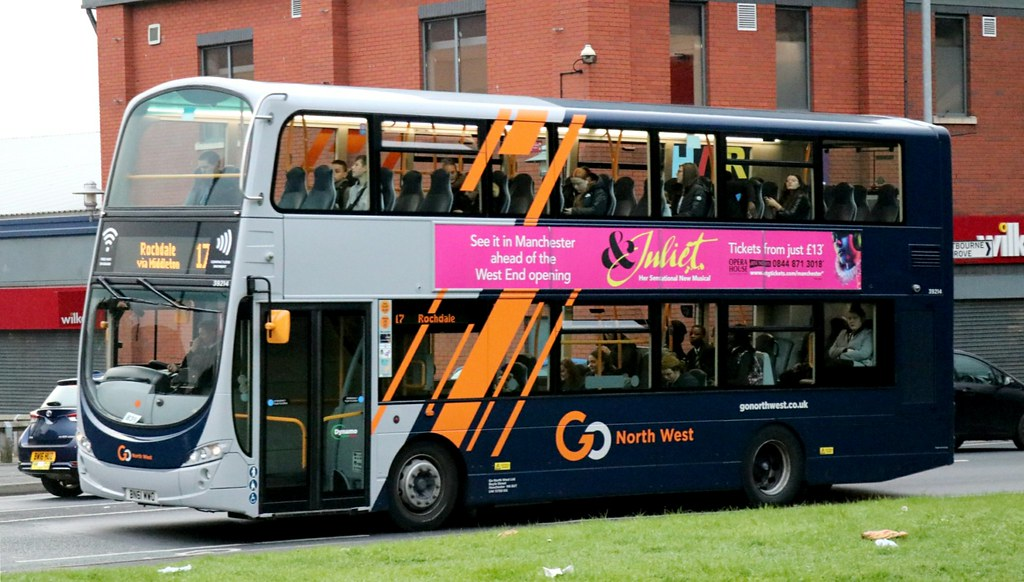 #AYearOfBuses 317: Rochdale – Manchester