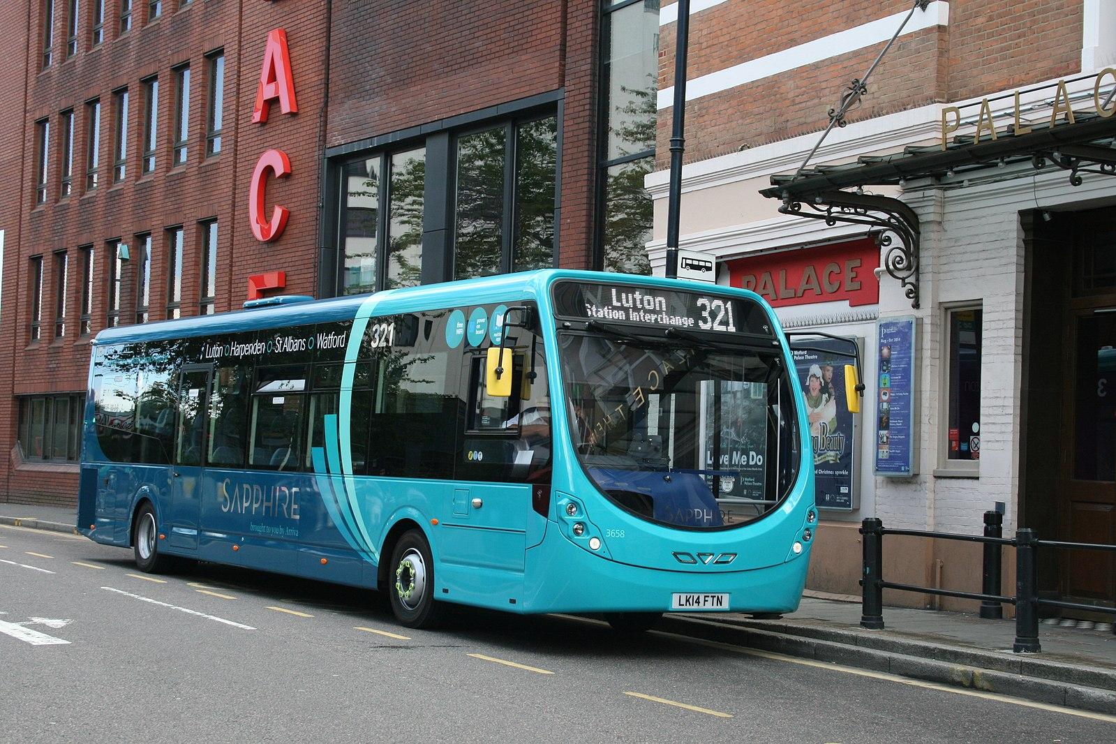 #AYearOfBuses 321: Sapphire Luton – Watford