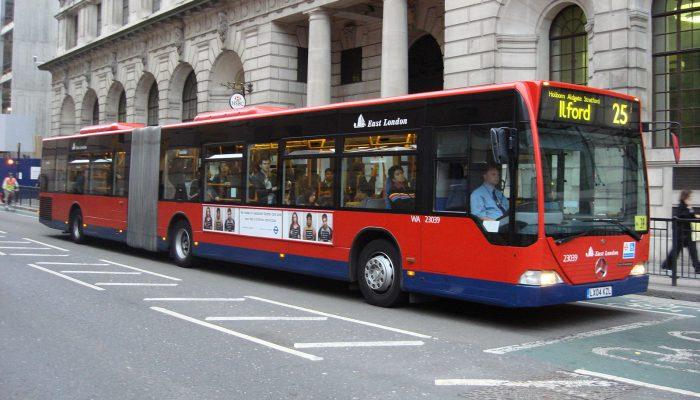 London bus 25