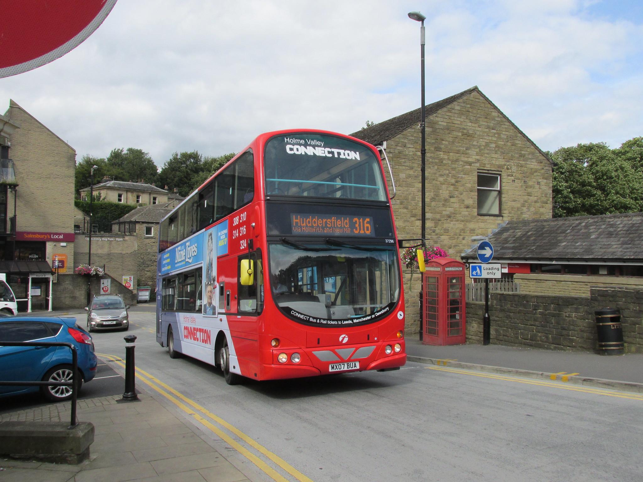 #AYearOfBuses 316: Parkhead – Huddersfield