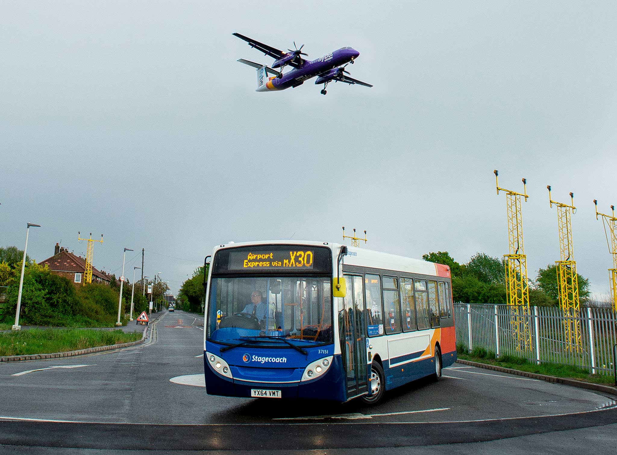 #AYearOfBuses 330: Stockport – Manchester Airport