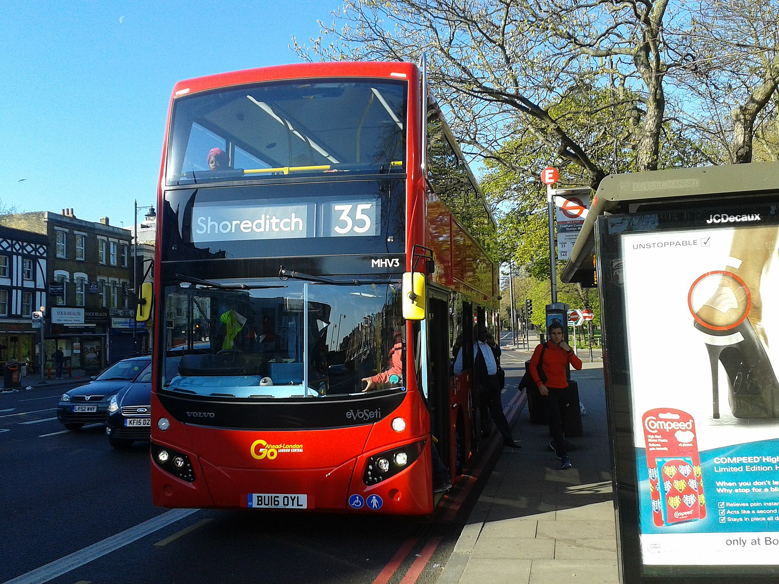#AYearOfBuses 335: Clapham Junction – Shoreditch