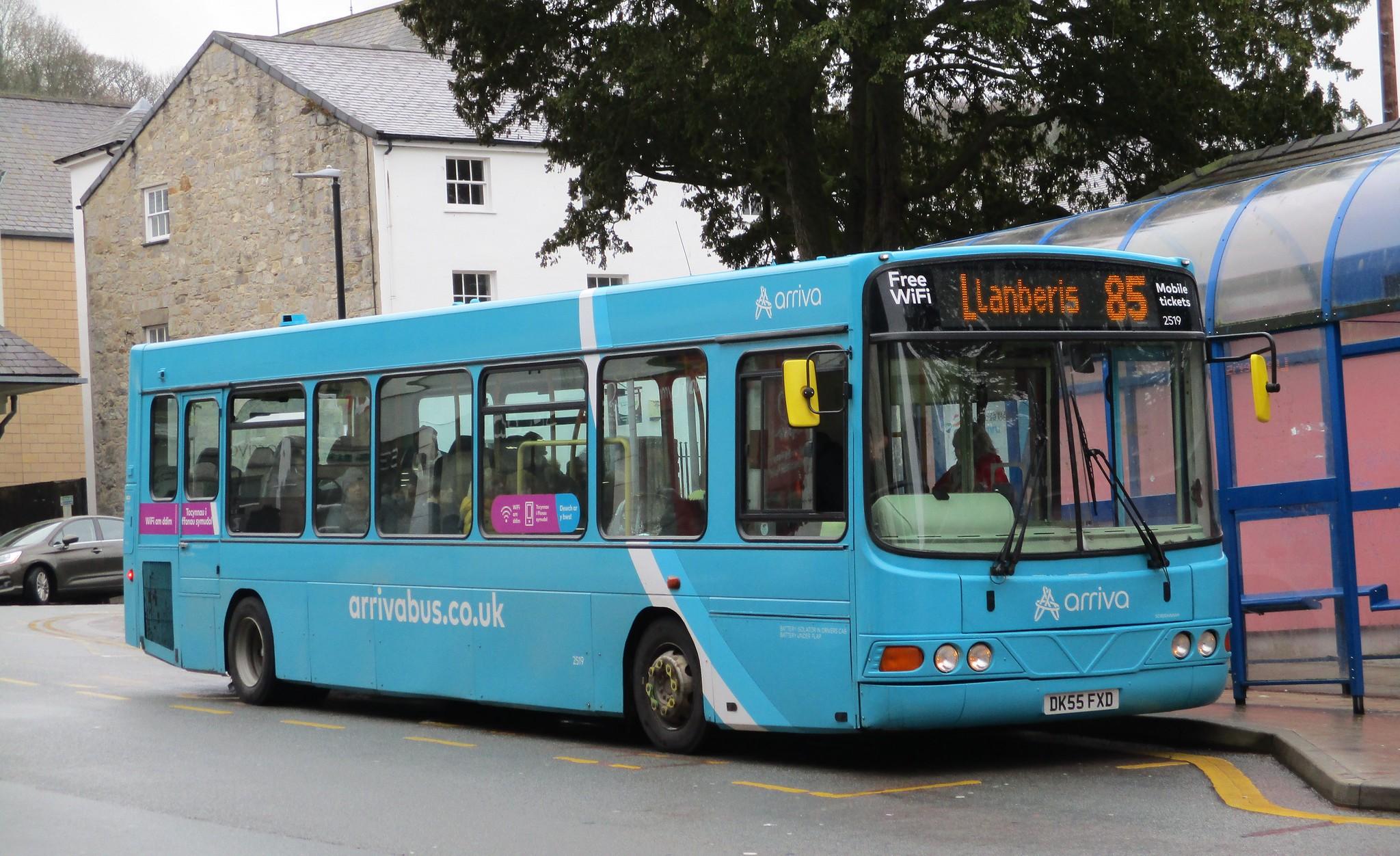 #AYearOfBuses 285: Bangor – Llanberis