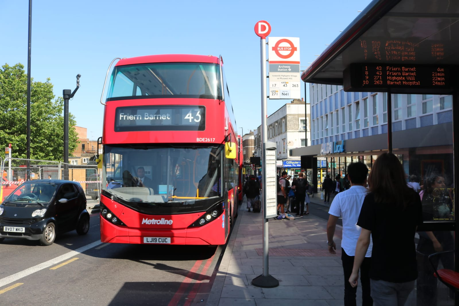 #AYearOfBuses 343: Friern Barnet – London Bridge