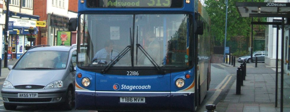 Stagecoach bus 313