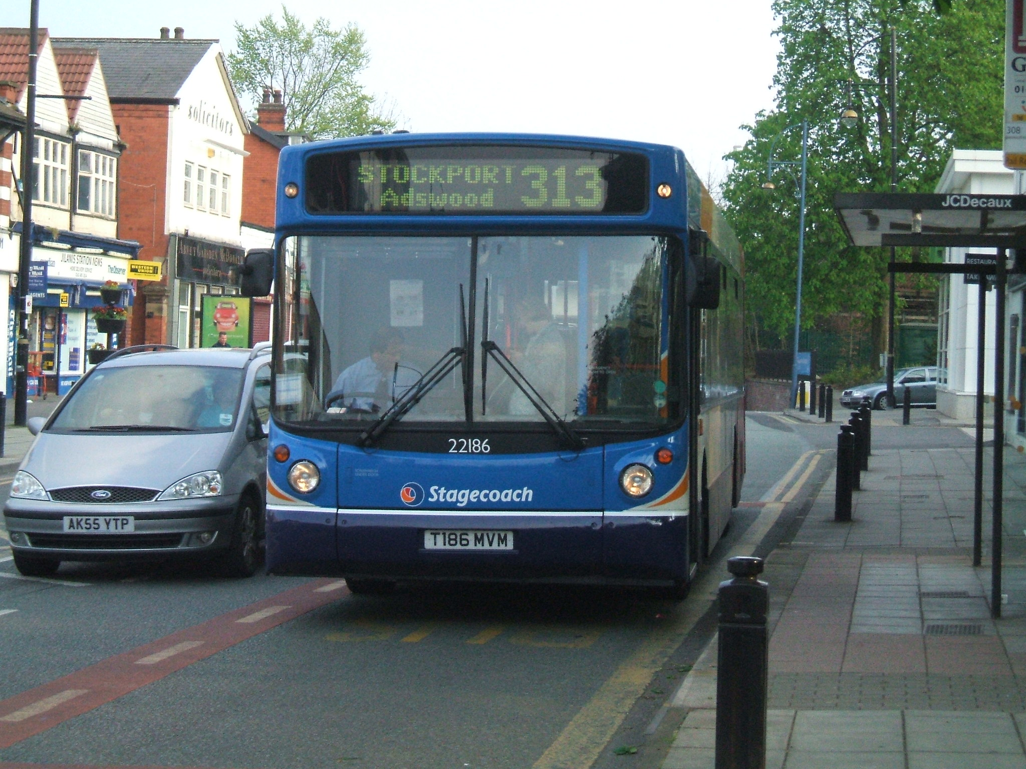 #AYearOfBuses 313: Stockport – Manchester Airport