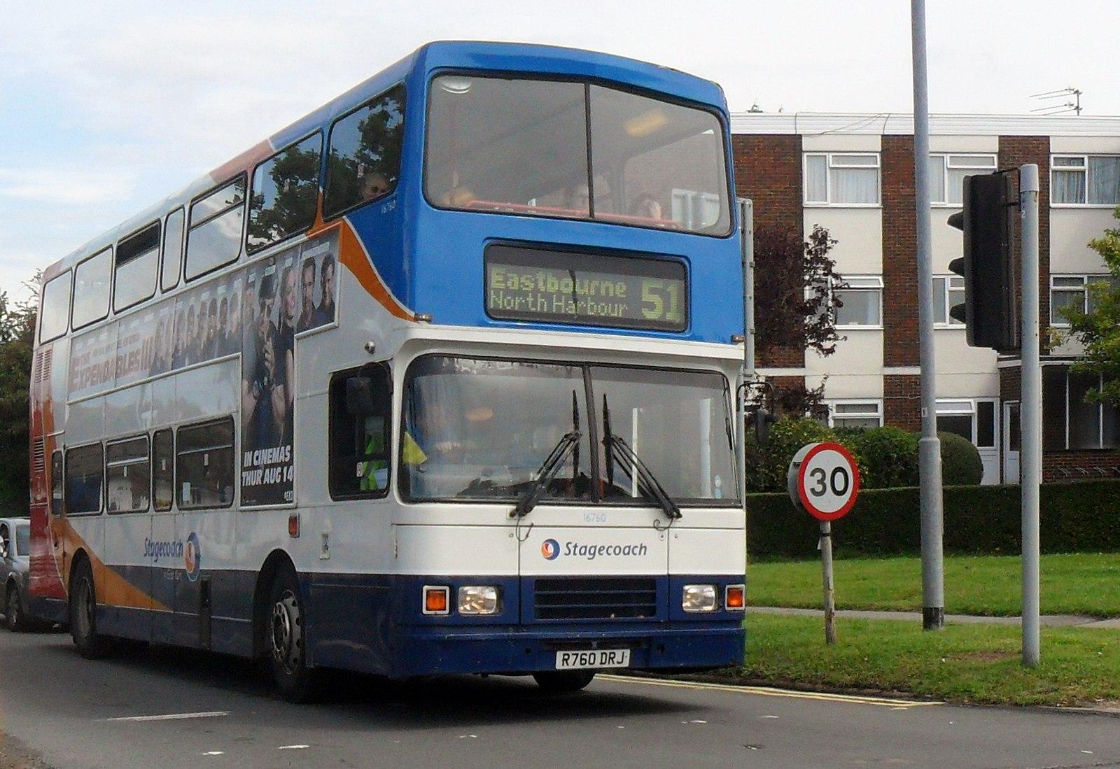 #AYearOfBuses 351: Heathfield – Eastbourne