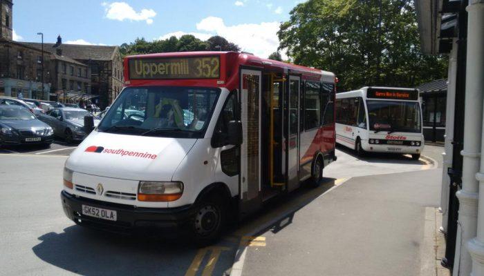 Uppermill bus 352