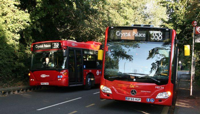 London bus 358