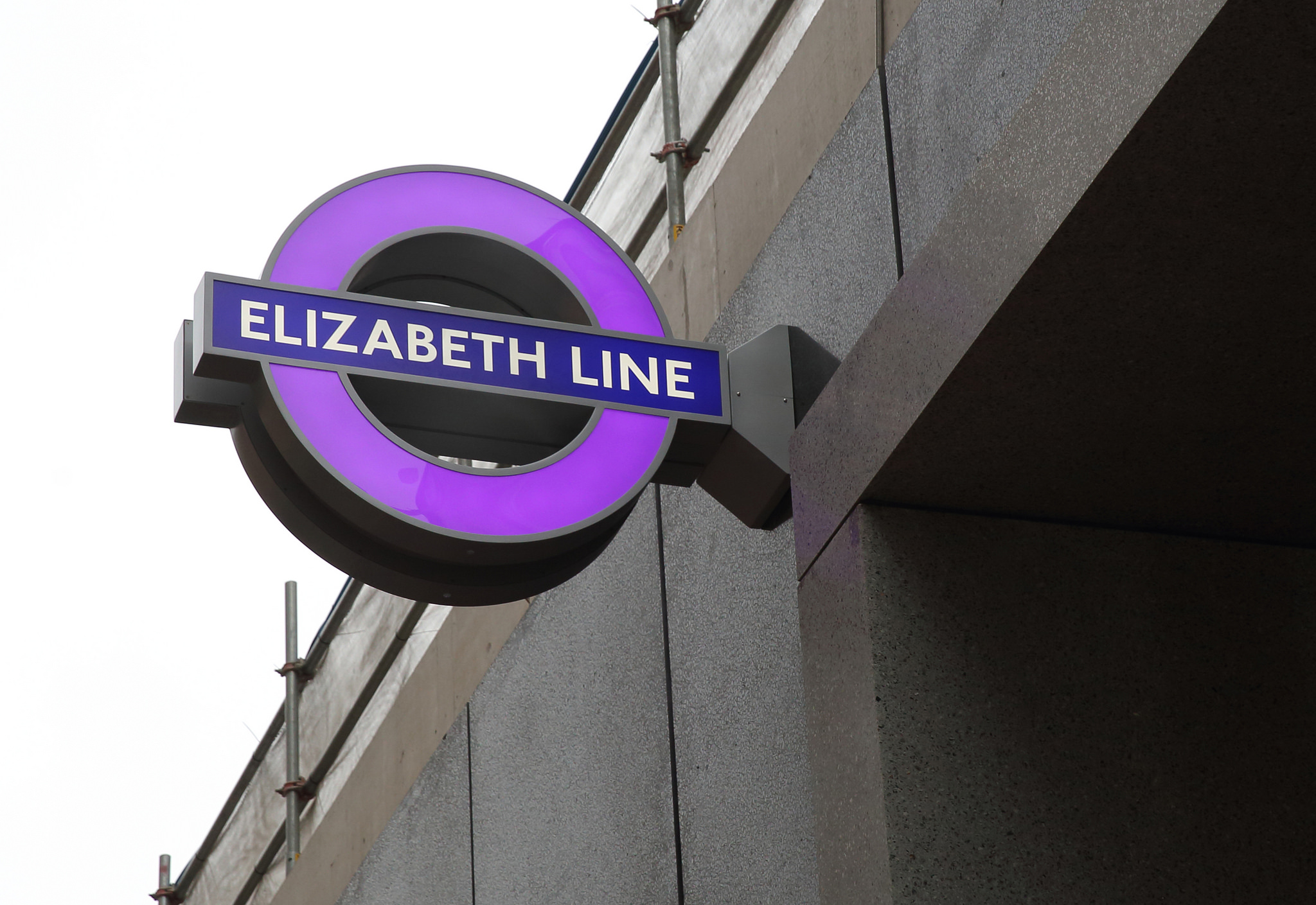 11 months to go: first iconic Elizabeth Line roundels installed