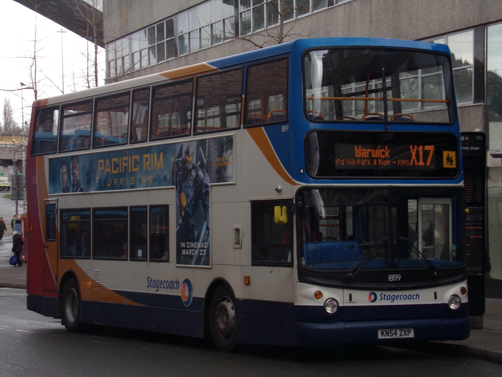 #AYearOfBuses 117: X17 Warwick – Coventry