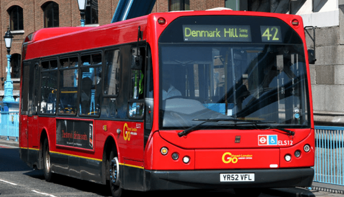 London bus 42