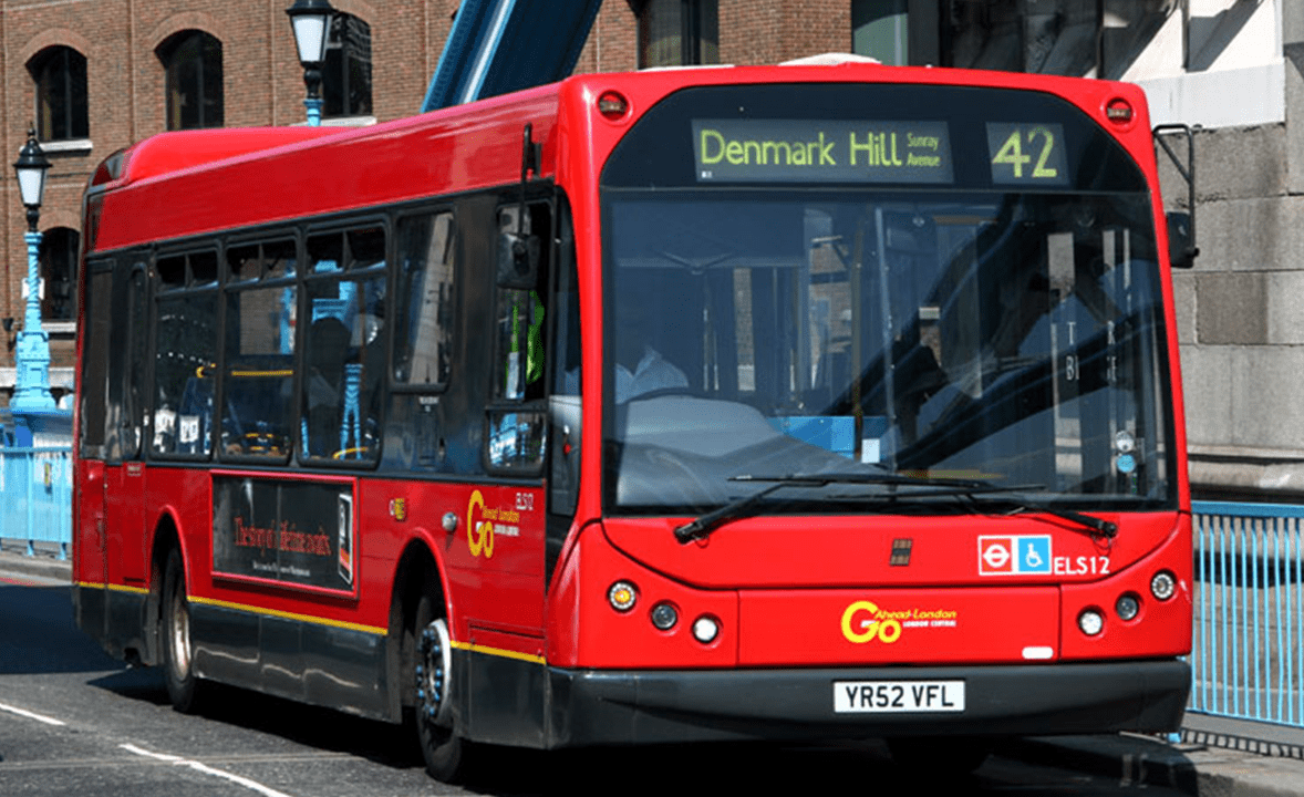 #AYearOfBuses 342: Liverpool Street – East Dulwich