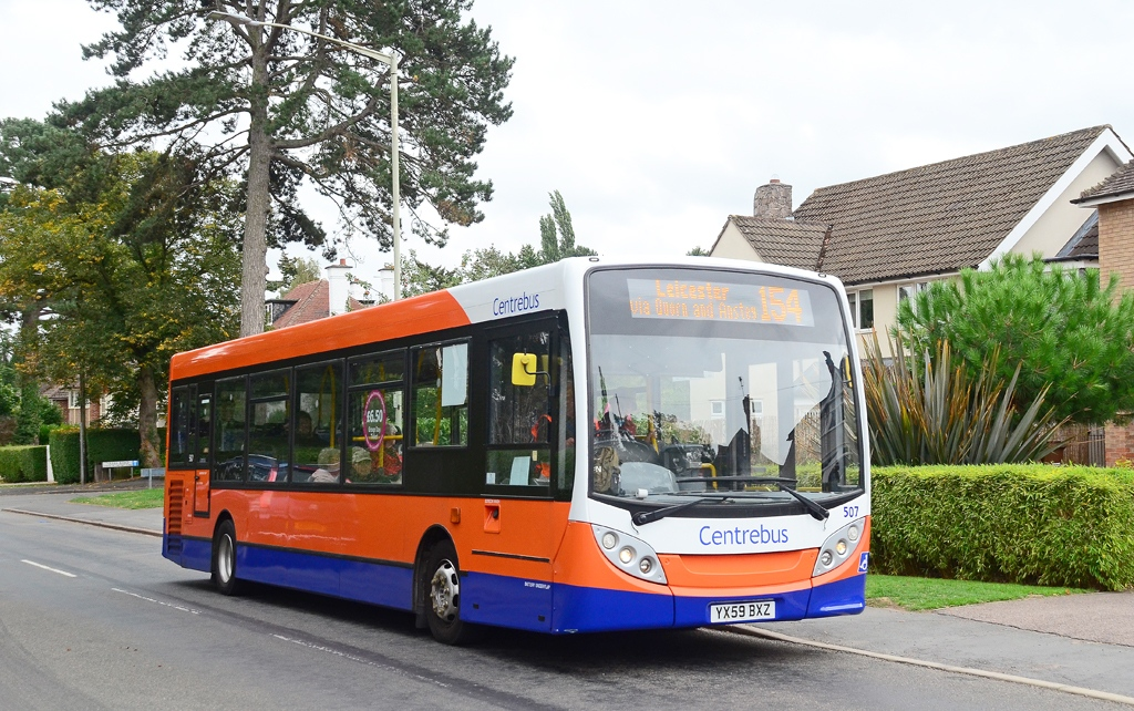 #AYearOfBuses 154: Loughborough – Leicester