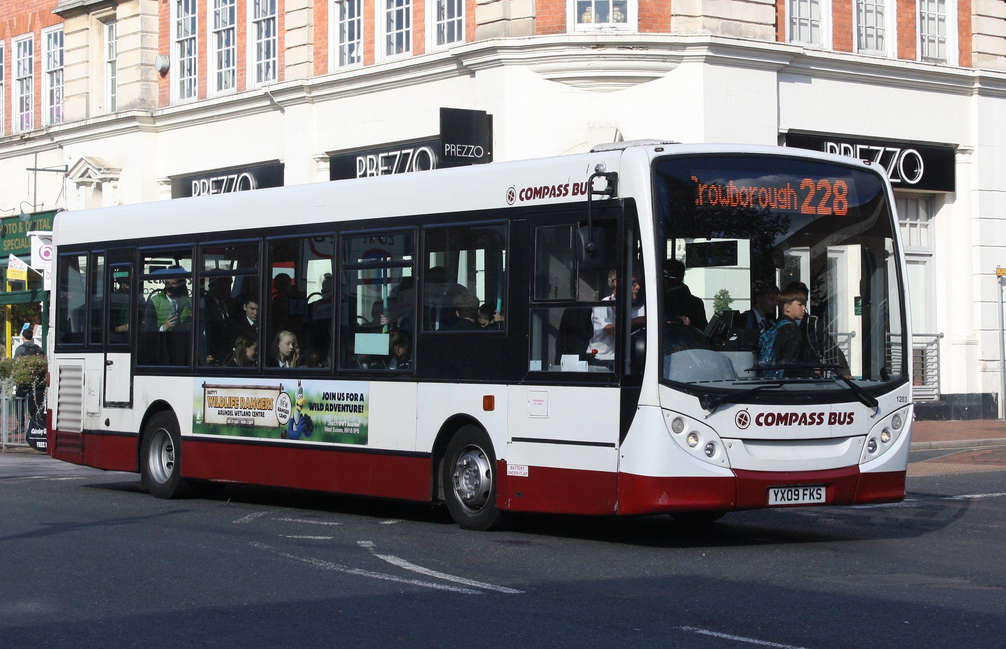 #AYearOfBuses 228: Tunbridge Wells – Crowborough
