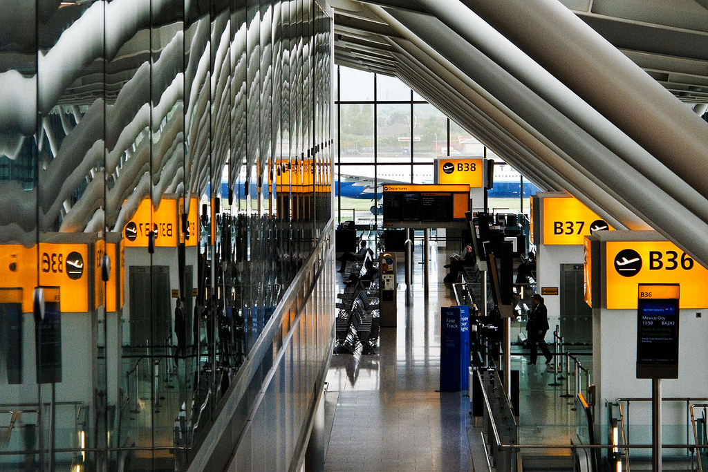Heathrow t5. Image credit: .curt. on Flickr.