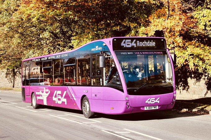 #AYearOfBuses 164: Rochdale – Accrington
