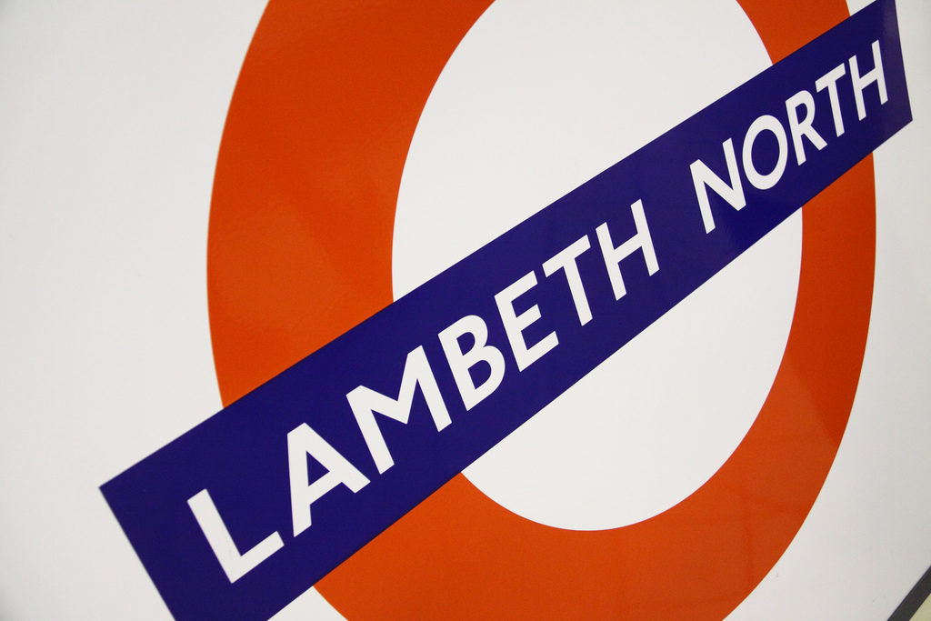 Roundel at Lambeth North