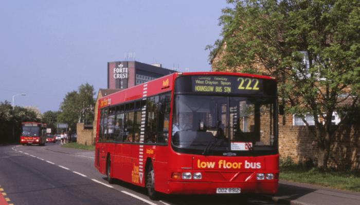 London bus 222