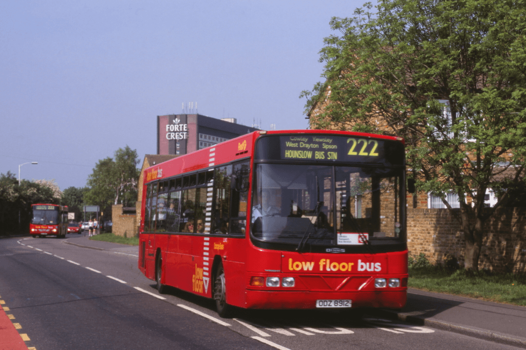 #AYearOfBuses 222: Hounslow – Uxbridge