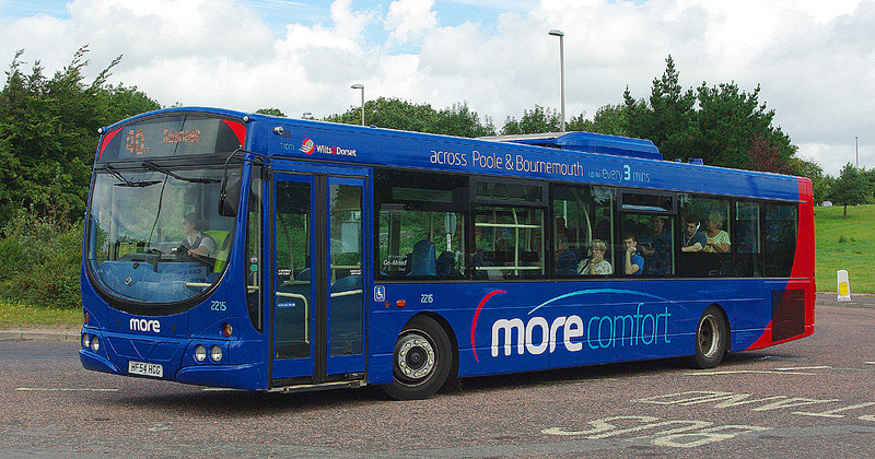 Morebus 2215 at Wareham. Image Credit: Ron Fisher on Flickr.
