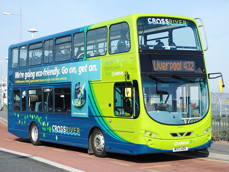 #AYearOfBuses 32: 432 Liverpool – New Brighton
