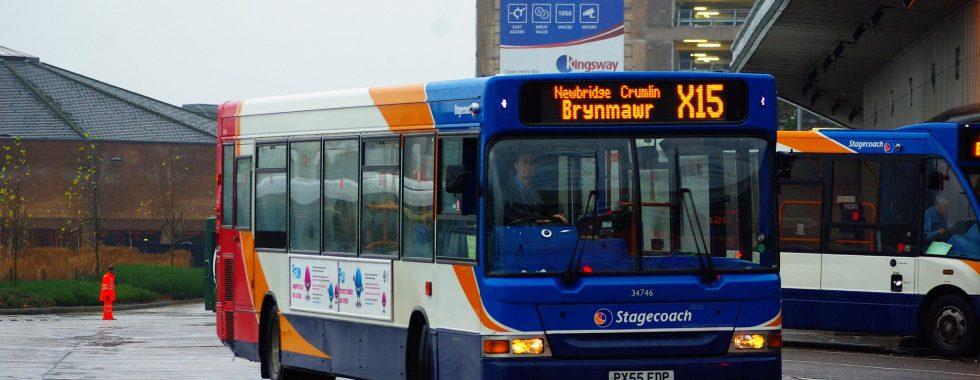 Stagecoach bus X15