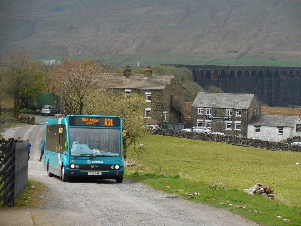 #AYearOfBuses 138: Ribblehead Dalesbus Hawes – Settle