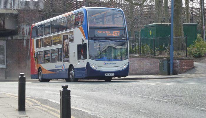 Manchester bus X57