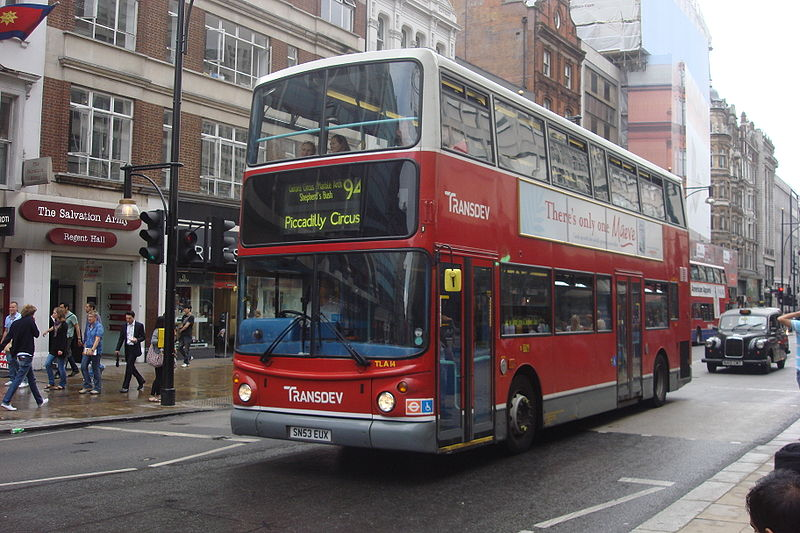 #AYearOfBuses 194: Piccadilly Circus – Acton Green