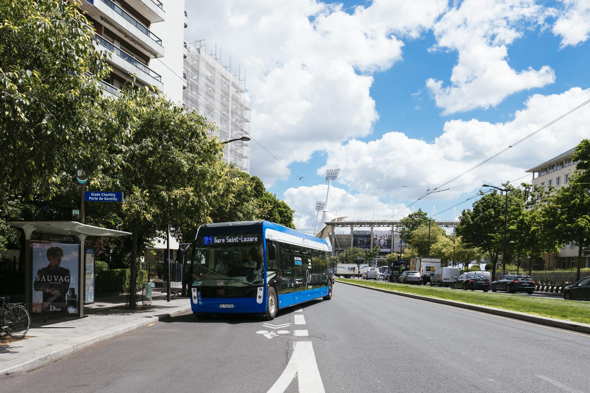 RATP places huge order for 50 Alstom Aptis electric buses