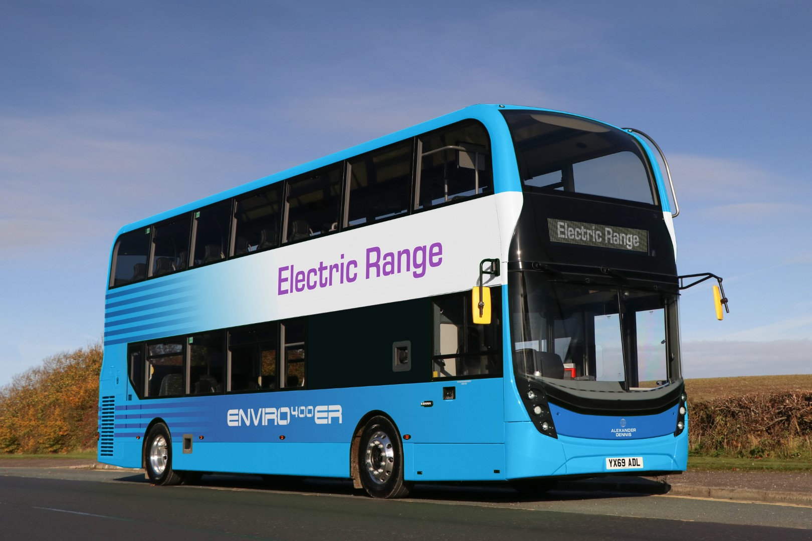 ADL supercharges double deckers with new Enviro400ER