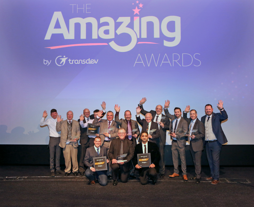 Transdev's Amazing Award winners are the Pride of the North