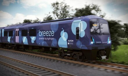 Eversholt and Alstom invest a further £1 million in Breeze hydrogen train programme