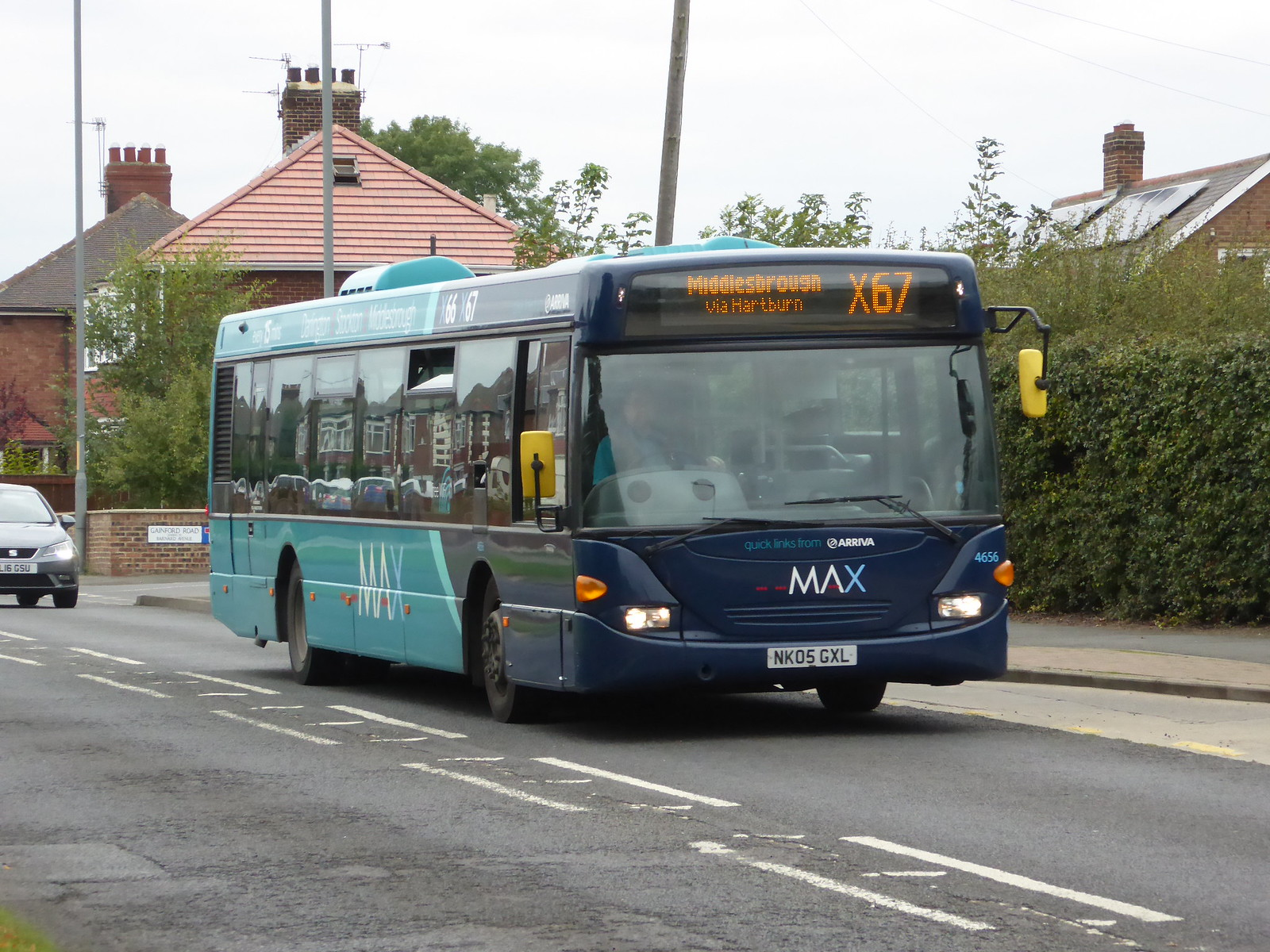 #AYearOfBuses 167: MAX Darlington – Middlesbrough