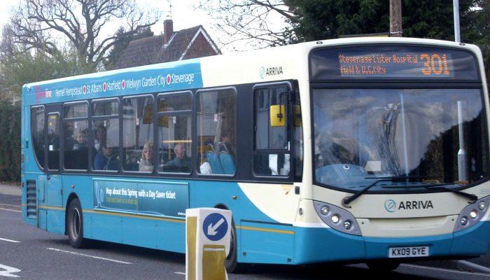 Arriva bus 302